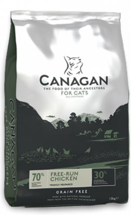 4 kg Canagan kattenvoer free-run chicken