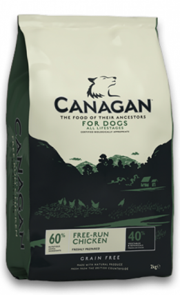 2 kg free-run chicken Canagan hondenvoer